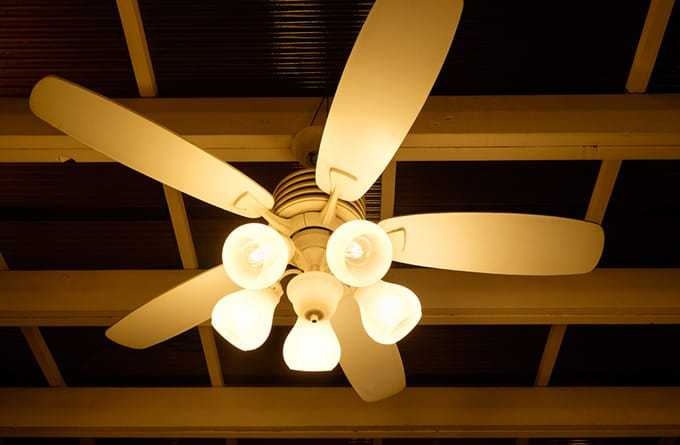 Ceiling fan light turning ON & OFF by Itself